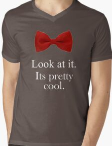 Bowties are cool. Mens V-Neck T-Shirt