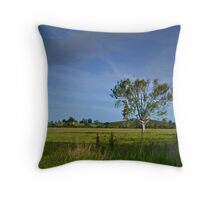 Mary Valley Country Throw Pillow