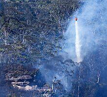Fire at Echo Point III by Josie Eldred