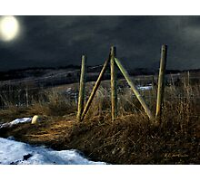 Starless Canadian Sky Photographic Print