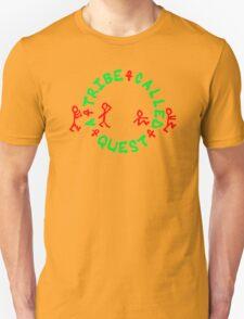 A TRIBE CALLED QUEST Logo ATCQ Rap Hip Hop Music Men's Black T-Shirt T-Shirt