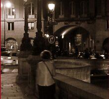 Pont Neuf at Night by marshstudio