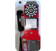 Old Crosley Phone iPhone Case/Skin