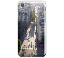 Evening shadows from the Pomideou iPhone Case/Skin
