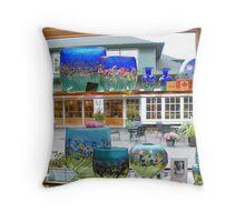 Glasswork at its Best Throw Pillow