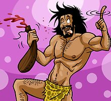 Caveman and Alcohol by CavemenTimes