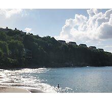 St. Lucia Coast Line Photographic Print