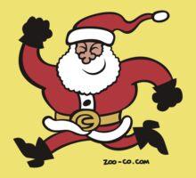 Running Santa Claus Kids Clothes