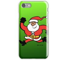 Running Santa Claus iPhone Case/Skin