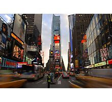 Times Squared Photographic Print