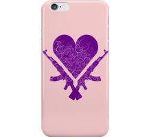 Heart & Guns iPhone Case/Skin