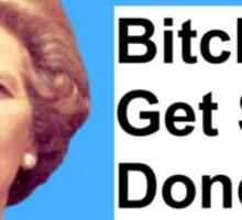 The Iron Lady  Sticker
