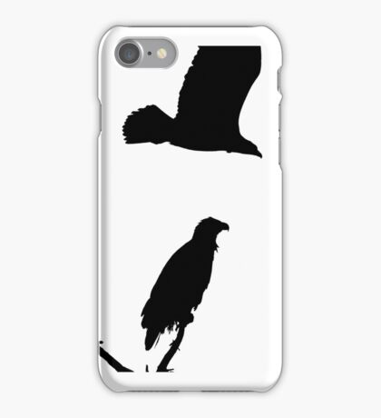 eagle flying off iphone iPhone Case/Skin