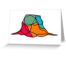 Melting Puzzle  Greeting Card