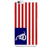 American Rattlesnake Flag iPhone Case/Skin