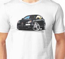 Alfa Romeo MiTo Black Unisex T-Shirt