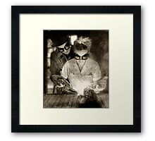 Open Heart Framed Print