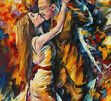 TANGO OF PAST YEARS - LEONID AFREMOV by Leonid  Afremov