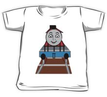 Toddlers Cartoon Lyle the Toy Train Engine Tshirt Kids Tee