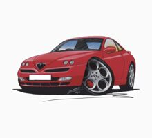 Alfa Romeo GTV Red by Richard Yeomans