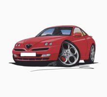 Alfa Romeo GTV Red by Richard Yeomans