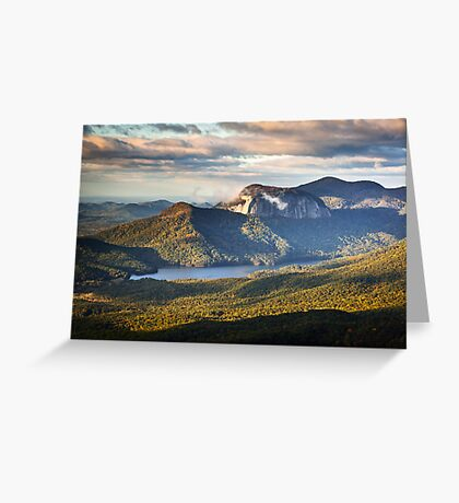 Table Rock Sunrise - Caesar's Head State Park Landscape Greeting Card