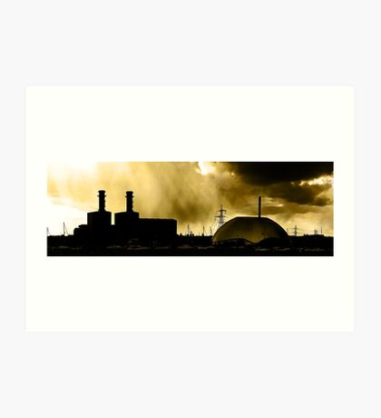 Marchwood Industrial Area Art Print
