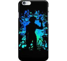 cowboy bebop spike spiegel paint splatter anime manga shirt iPhone Case/Skin