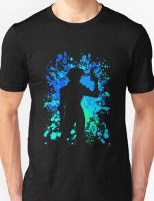cowboy bebop spike spiegel paint splatter anime manga shirt T-Shirt