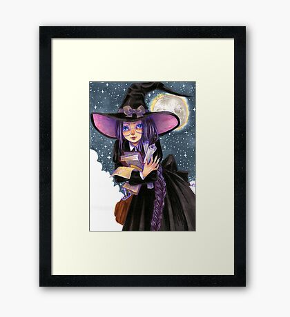 Witch Student Framed Print