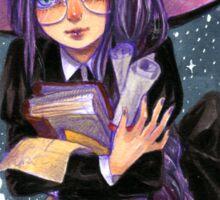 Witch Student Sticker