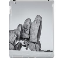 Mt Kosciusko - Black and White iPad Case/Skin