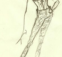 Fashion Sketch Female 10 by AnArtfulLife
