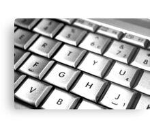 Mac Attack Keyboard Metal Print