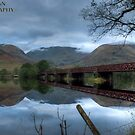 Bridge over....well calm waters actually. by dan williams