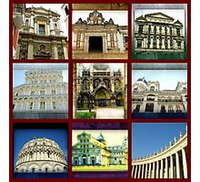 Collage: Churches Photographic Print