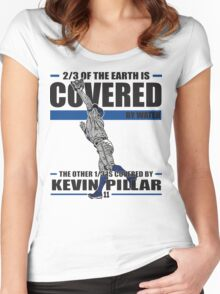Superman - Kevin Pillar Women's Fitted Scoop T-Shirt
