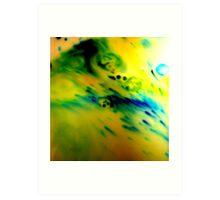 Psychedelic Milk 1 Art Print