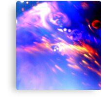 Psychedelic Milk 3 Canvas Print