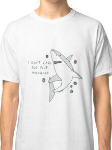 Misogyny Shark Classic T-Shirt
