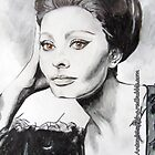 Sophia Loren (IPhone Case) by Antonio  Luppino