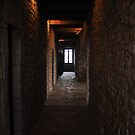 Castle Hallway by Jill Vadala
