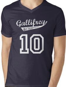 Gallifrey All-Stars: Ten Mens V-Neck T-Shirt