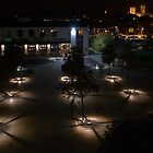 Lincoln University Campus at night by Scott Read