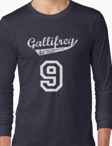 Gallifrey All-Stars: Nine Long Sleeve T-Shirt