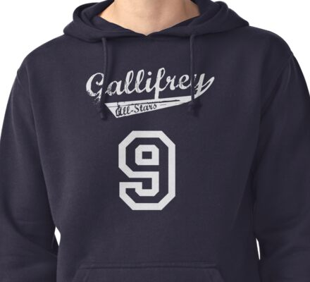 Gallifrey All-Stars: Nine Pullover Hoodie