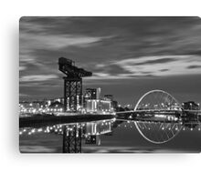 Squinty Bridge Glasgow Canvas Print