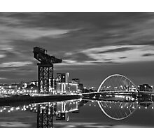 Squinty Bridge Glasgow Photographic Print