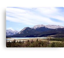 Rocky Mountain View Canvas Print