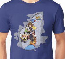 Kingdom hearts ripped  Unisex T-Shirt